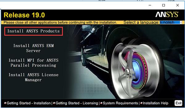 ANSYS Products 19破解版64位下载(附安装使用教程及快捷键)[网盘
